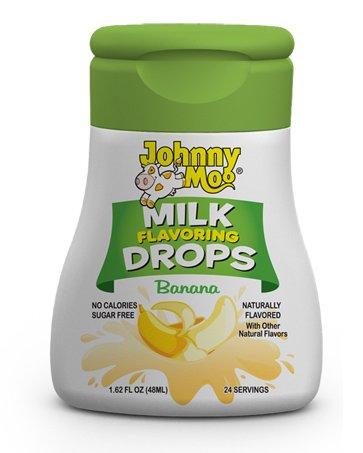 voring Drops, 1.62oz Bottle (Pack of 3) (Choose Flavors Below) (Banana) (Milk Flavor)