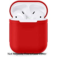 Gadgets Wrap UE-P6JB-2DJ6 Soft Silicone Cover for Airpods (Red)