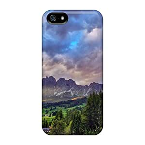 Top Quality Protection Superb Mountain Lscape Hdr Case Cover For Iphone 5/5s
