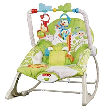 Incredible Ibaby Infant Baby Toddler Vibrations Rocker Amazon Com Machost Co Dining Chair Design Ideas Machostcouk