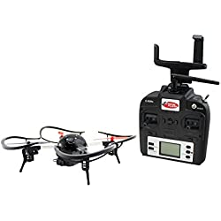 Extreme Fliers Micro Drone 3.0 Combo Pack WIFI Quadcopter with 720P HD Camera Module, FPV VR Viewer and Smartphone Holder