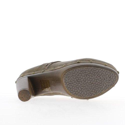 Brown Richelieux, al tacco di 10,5 cm e plateau