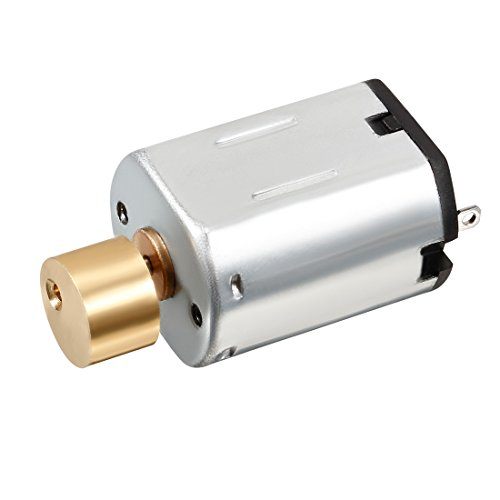 uxcell Vibration Motor DC 3V 8800RPM Electric Vibrating Micro Motor Strong Power