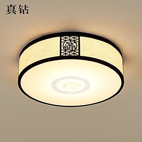BRIGHTLLT Nuevas lámparas de techo chino Ronda de luces de ...