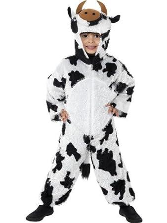BOYS/GIRLS/KIDS COW FANCY DRESS COSTUME/JUMPSUIT AGES YEARS 3/5  sc 1 st  Amazon UK & BOYS/GIRLS/KIDS COW FANCY DRESS COSTUME/JUMPSUIT AGES YEARS 3/5 YR ...
