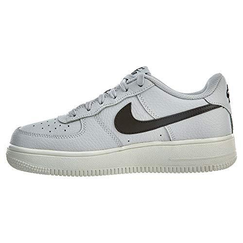 black Gris 2 Mixte Enfant vast 314192 air Nike Basses Grey noir Force 1 W1AqSg
