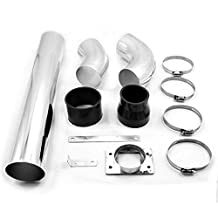 TIROL Aluminum 12 Pieces/ Set Air Intakes Tube Multiple Combined High-flow Air Intake Mounting kits