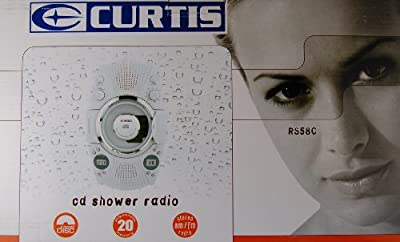 CURTIS RS58C CD Player/Shower Radio by CURTIS