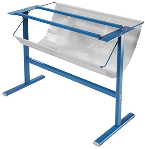 Dahle 796 Trimmer Stand w/Paper Catch, Ensures Optimal Height, German Engineered, Steel, for Dahle 446 Premium Rolling Trimmer