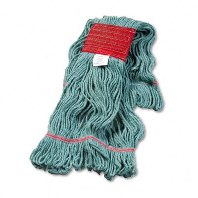 UNS503GN - Super Loop Wet Mop Head, Large Size, Cotton/Synthetic Yarn, Green