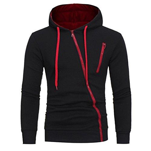 para hombre Manga Nergo oferta de Amlaiworld Larga chaqueta Hombre invierno Sudadera Outwear hombre para casual Sudadera ropa Hombre otoño SFRBqwdS