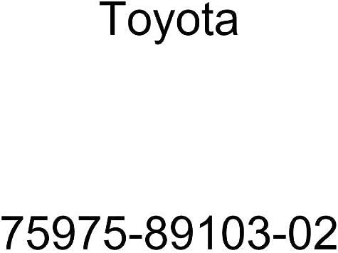 Toyota 75975-89103-02 Door Stripe