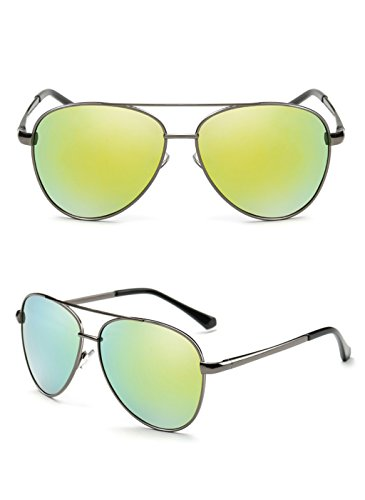 Lunettes des de de la 1 Miroir Soleil Mode polarisées Conduite Soleil X1 Couleur Lunettes Miroir 1 Pilote Miroir Lunettes à 85qEWr8w