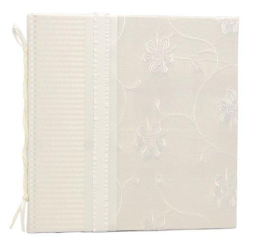 HOM Essence Molly West 2161 Hardbound 28-Page Keepsake Wedding Journal with Dupioni-and-Jacquard Cover, Destiny