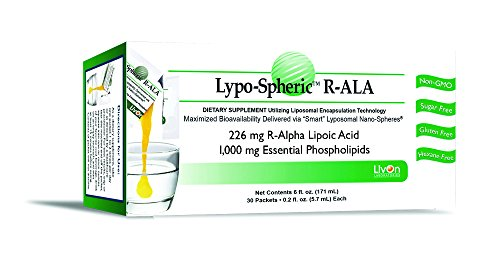 LivOn Laboratories Lypo-Spheric R-ALA Supplement, 30 Count, 0.2 Fl Oz