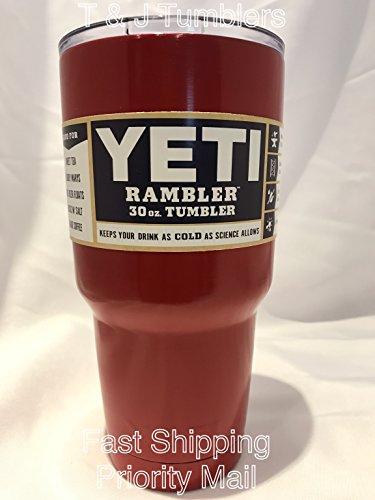 Yeti Rambler 30oz Red Stainless Steel Tumbler Insulated Coffice Mug Cup