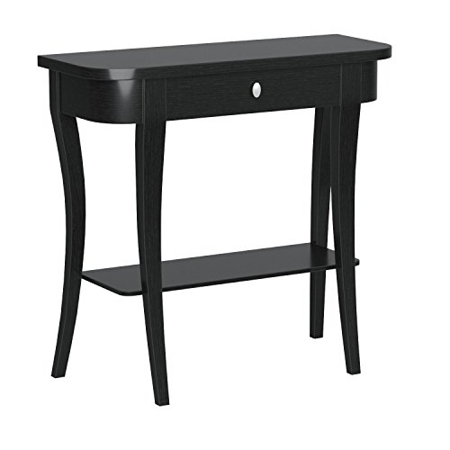 Convenience Concepts Newport Console Table, Black