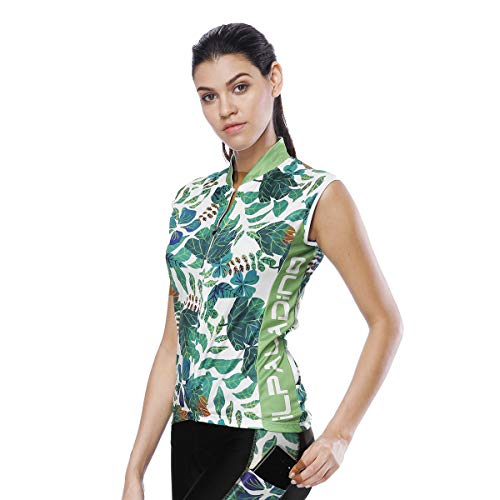 (mingming52071 Women Sleeveless Cycling Jersey Team Racing Cycling Vest/Gilet Cycle Breathable Biking Top)