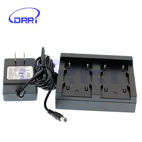 DRRI Dual Charger for Trimble 5700/5800/R8/R7/R6 GNSS TSC1 GPS 54344 Receiver Battery