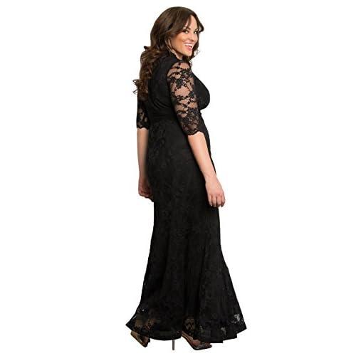 60b98724cb155 Kiyonna Women s Plus Size Screen Siren Lace Gown lovely - www.xm-tea.net