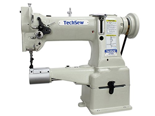 TechSew 2700 Leather Walking Foot Industrial Sewing Machine with Assembled Table & Servo Motor by TechSew