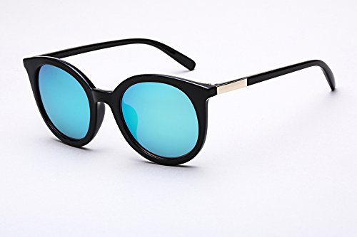 759cc06a63046 Diamond Candy Women s Sunglasses UV Protection Polarized eye glasses  Goggles UV400 54Blackblue