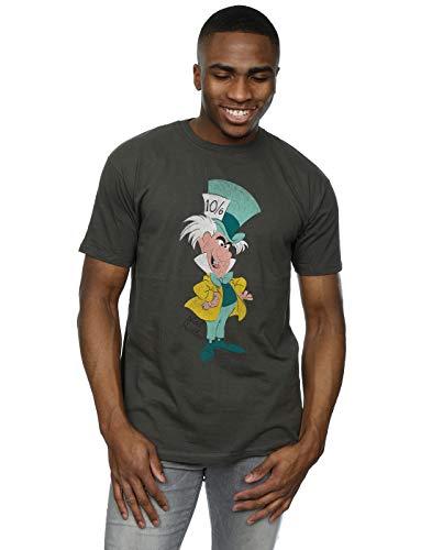Mad Hatter Shirts (Disney Men's Classic Mad Hatter T-Shirt X-Large Light)