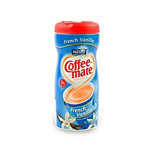 Coffee-Mate, French Vanilla Powdered Coffee Creamer, 15oz Canister (Pack of 3)