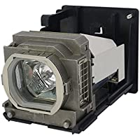 AuraBeam Professional Replacement Projector Lamp for Mitsubishi VLT-HC6800LP With Housing (Powered by Ushio)