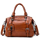 Women Handbag Tote PU All Seasons Formal Casual Event/Party Wedding Office & Career Barrel Zipper Brown Black Blue
