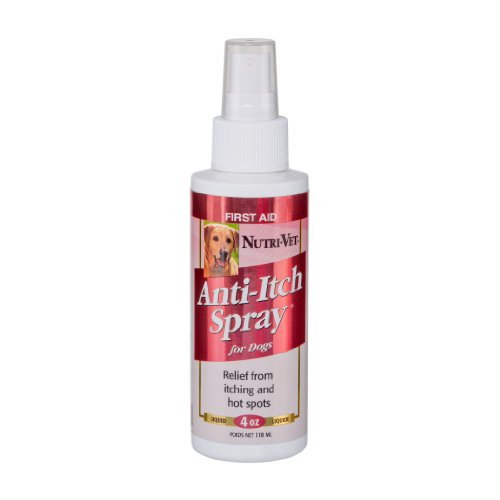 Nutri-Vet Anti-Itch Spray for Dogs, 4-Ounce, My Pet Supplies