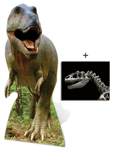 Tyrannosaurus Rex (t-rex) - Wildlife/Animal Lifesize Cardboard Cutout / Standee / Standup - Includes 8x10 (20x25cm) Star Photo