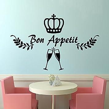 IncredibleWallDecals Bon Appetit Adesivo da Parete per Cucina ...