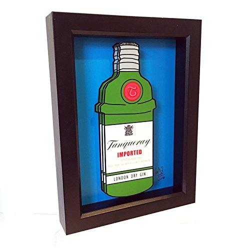 tanqueray-bottle-home-decor-3d-art-print-liquor-gin-and-tonic-pop-artwork