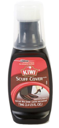 Kiwi Scuff Cover, Instant Wax Shine, Brown, 2.4 oz