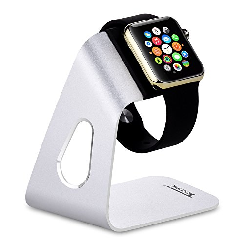 Tendak Charging Stand Bracket Docking Station Stock Cradle Holder for Apple Watch Both 38mm & 42mm, Aluminum Build - Station Uk Watch