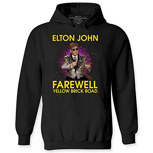 Retro Elton Farewell John Hoodies
