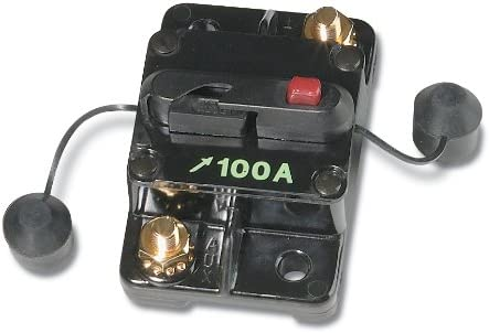Battery Doctor Automotive Circuit Breaker, 100A at 12VDC