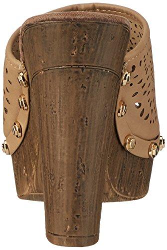 Refresh 63391, Sandalias con Plataforma Mujer Marrón (Taupe)