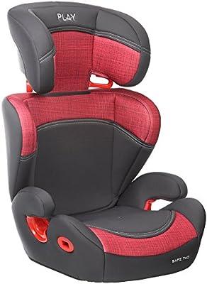 Play Safe Two Plus - Silla de coche, grupo 2-3, color rojo