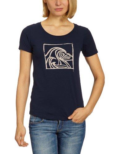 Roxy Good Looking / XMWJE95218 T-shirt Femme Bleu foncé Taille S / 36-38