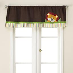 Jungle Jubilee Window Valance by Too Good by Jenny
