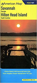 ~FREE~ American Map Savannah, Georgia/ Hilton Head Island, South Carolina Pocket Map. Gredos about Social happens lista stock entrada