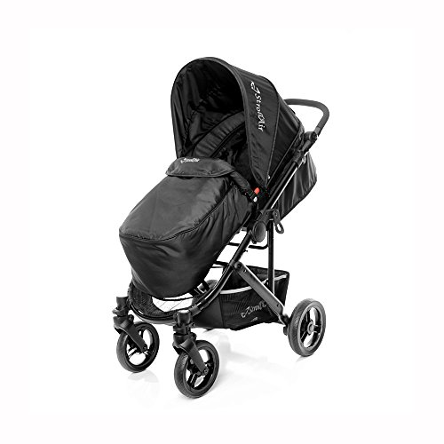 STROLL-AIR StrollAir Cosmos Single Stroller, Black