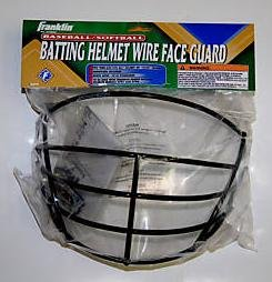 Franklin BASEBALL/SOFTBALL BATTING HELMET WIRE FACE GUARD #2709S3 by Franklin