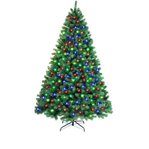 Artificial Christmas Tree With Multicolor Led Lights in US - 2