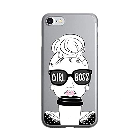 Amazon.com MISC Sexy Fashion Girl Boss iPhone 7 Case