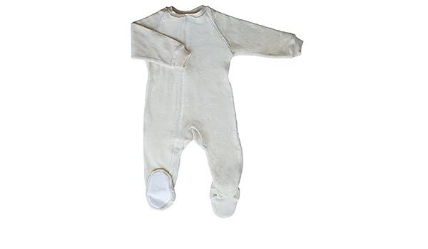 f50466301 Amazon.com  CastleWare Baby Footie Pajama - Organic Cotton Velour ...