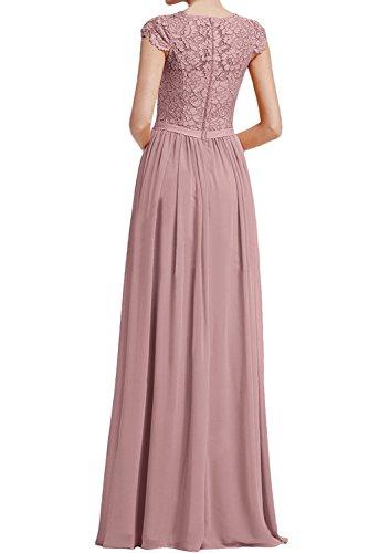 Elegant Braut Jugendweihe Mit Dunkel Abschlussballkleider La Braun Abendkleider mia Ballkleider Blau Lang Kurzarm Spitze Kleider w5xUEqg