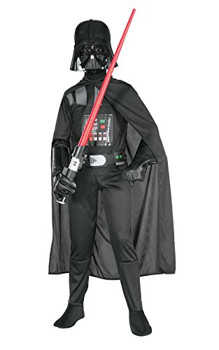 Star Wars Child's Darth Vader Costume, Large (Star Wars Queen Amidala Costume)